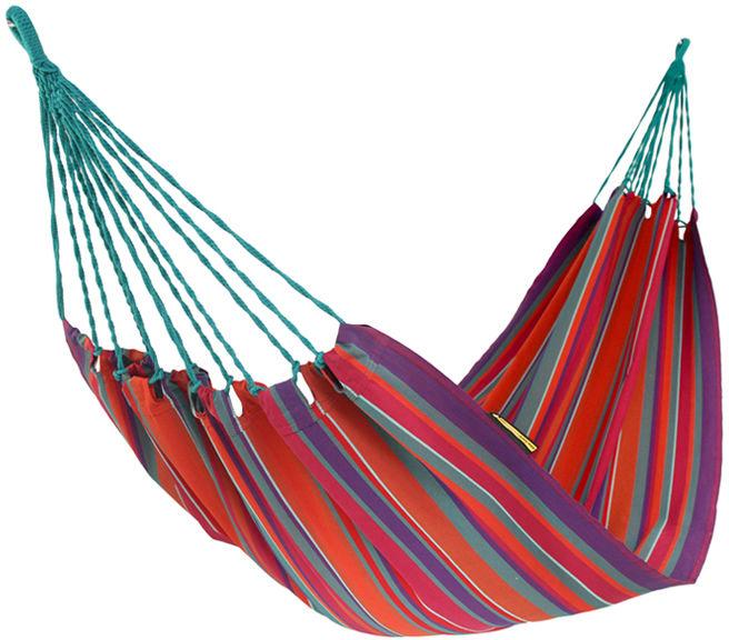 Hamak, czerwono-błękitny H