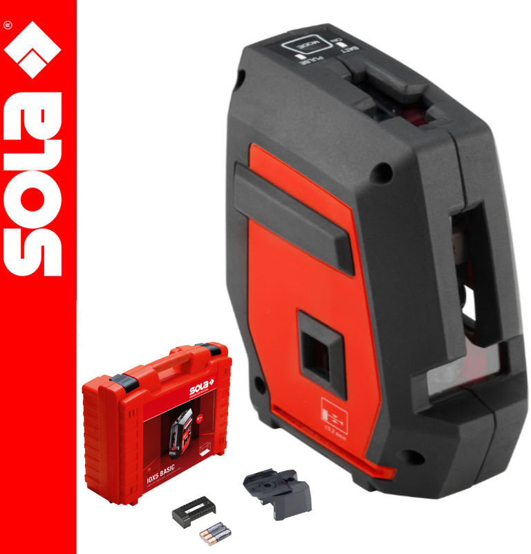 Laser liniowy i punktowy iOX5 Basic SOLA