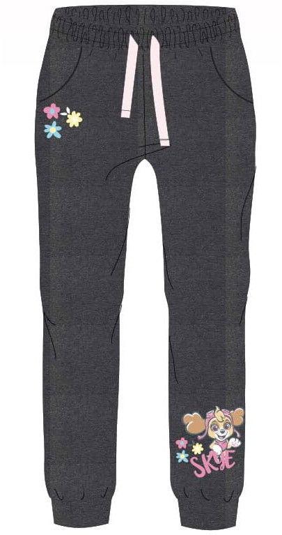Spodnie dresowe dla dziewczynki PSI PATROL szare