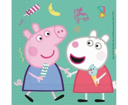 Serwetki papierowe Peppa Pig