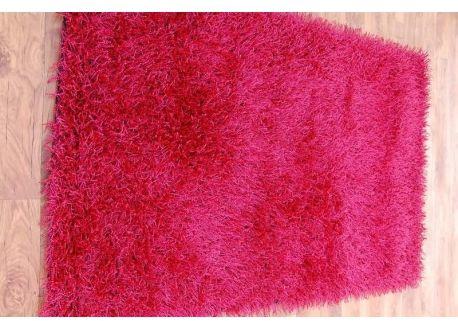 DYWAN SHAGGY AGRA czerwień 130x190 cm