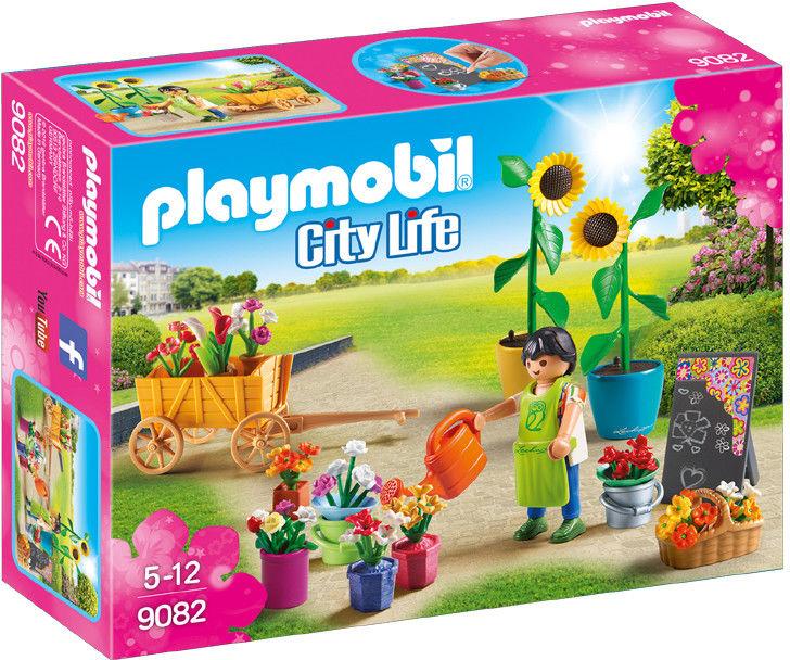 Playmobil - Sprzedawca kwiatów 9082