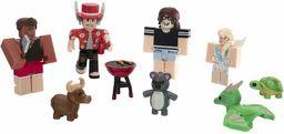 Roblox - Kolekcja Celebrytów Adopt Me: Grill na Podwórku, Wielokolorowy, 4 Figurki, ROG0190