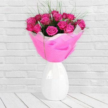 Bajkowy róż - Bukiet kwiatów