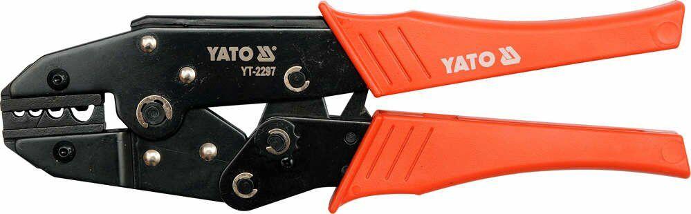 Szczypce do zacisk.konektorów 1,5-10mm2 Yato YT-2297 - ZYSKAJ RABAT 30 ZŁ