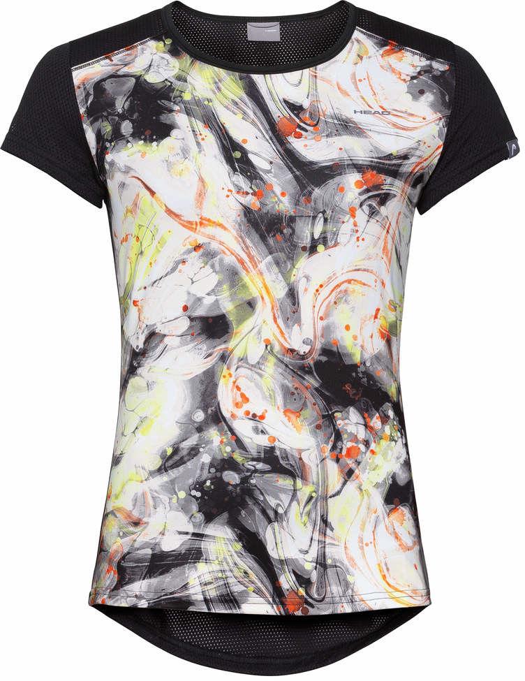 Head Sammy T-shirt G - caleido grey/black