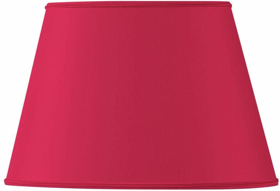 Klosz lampy owalny, Ø 40 x 27 x 25 x 18/26,5 cm, jaskrawy czerwony
