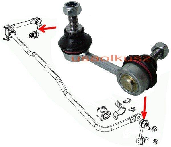 Łącznik stabilizatora tylnego Peugeot 4007