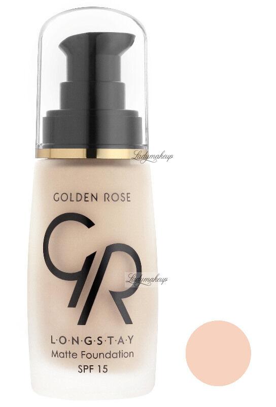 Golden Rose - LONGSTAY MATTE FOUNDATION - Długotrwały, matujący podkład do twarzy - P-GLM - 03