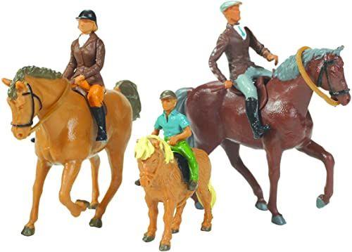 TOMY Britains 40956 - Konie i jeźdźce