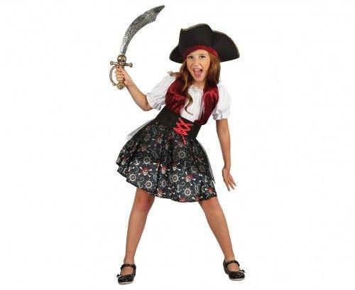 Strój dla dziewczynki Piratka z Wyspy Piratów