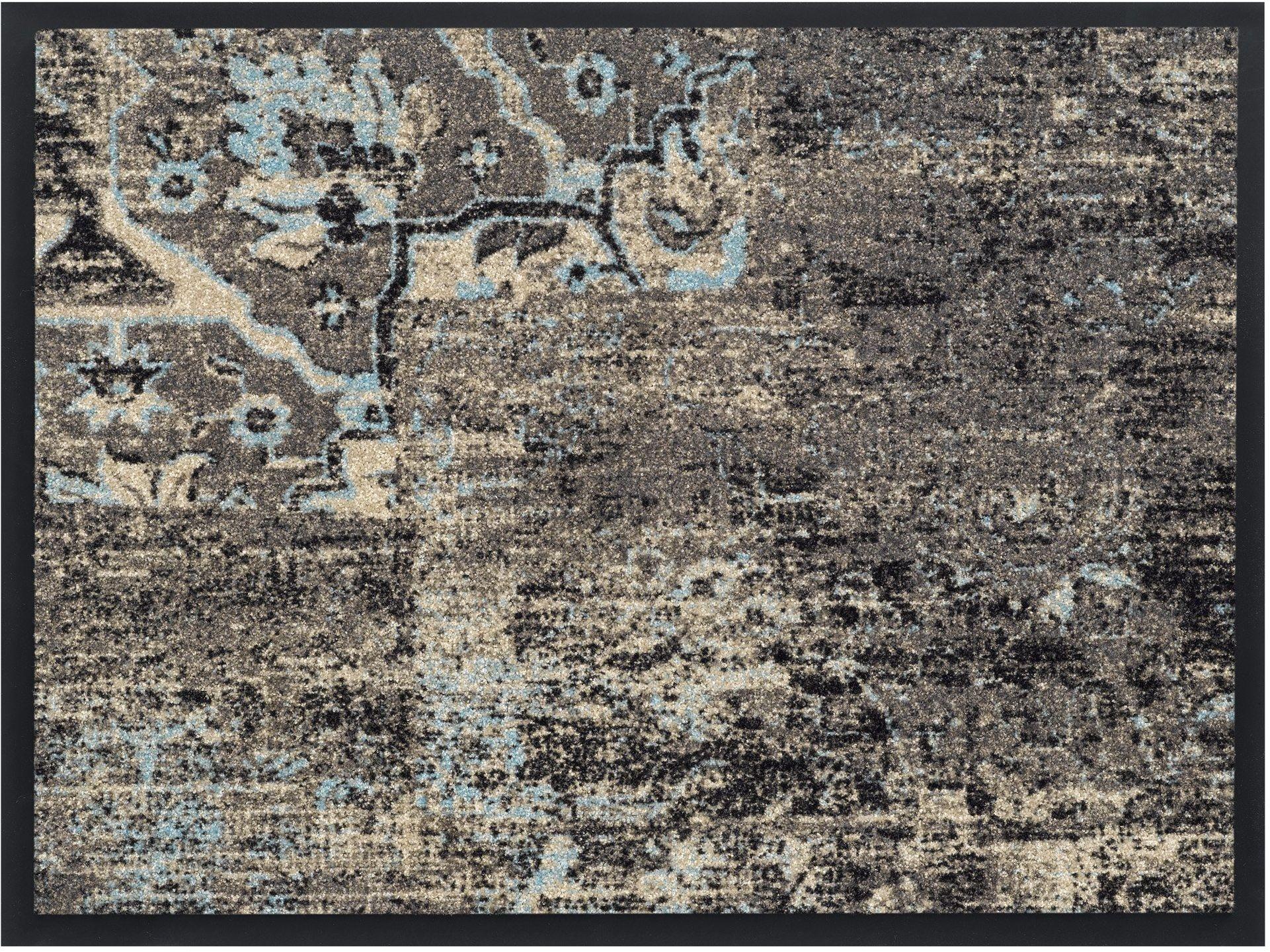 HMT 5800426 wycieraczka z poliamidu, styl vintage, 60 x 80 cm