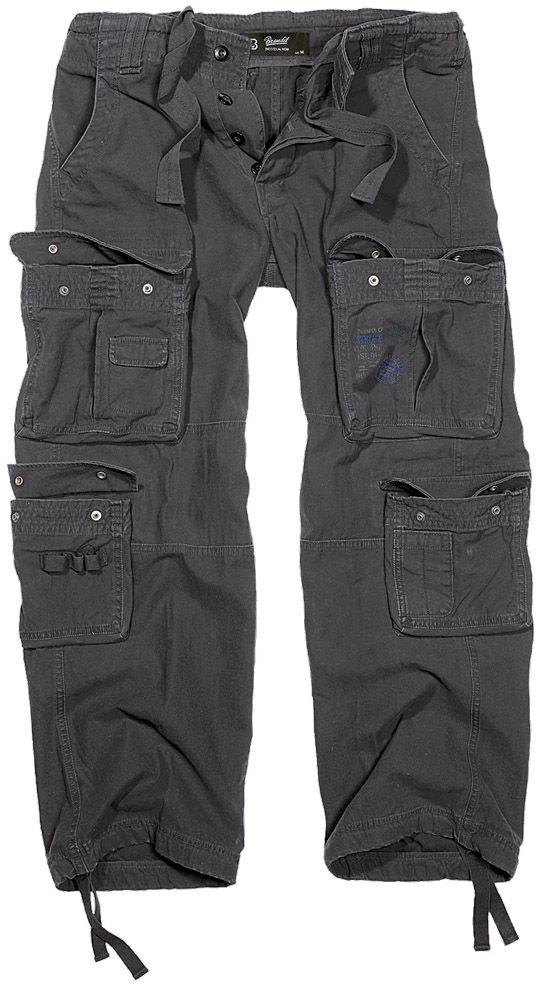 Spodnie wojskowe Brandit Pure Vintage Black (1003-2)