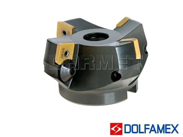 Frez składany nasadzany 63 mm czołowy 4-ostrzowy - 220.27 - 063 - DOLFAMEX