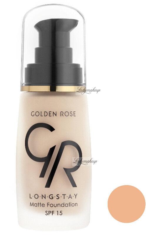 Golden Rose - LONGSTAY MATTE FOUNDATION - Długotrwały, matujący podkład do twarzy - P-GLM - 04