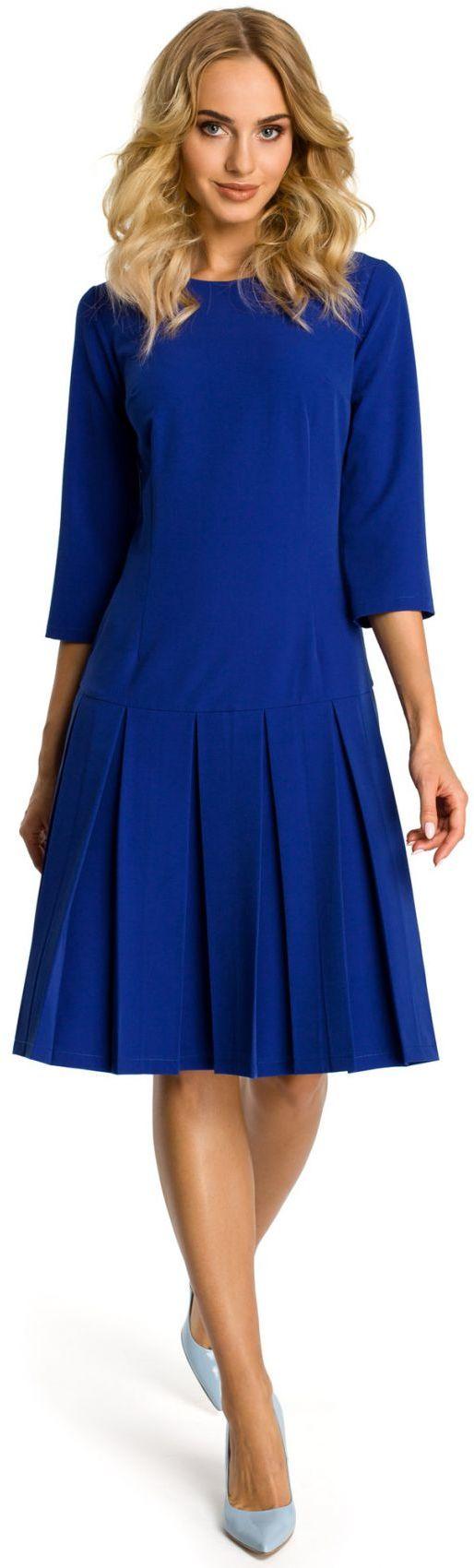M336 sukienka chabrowa