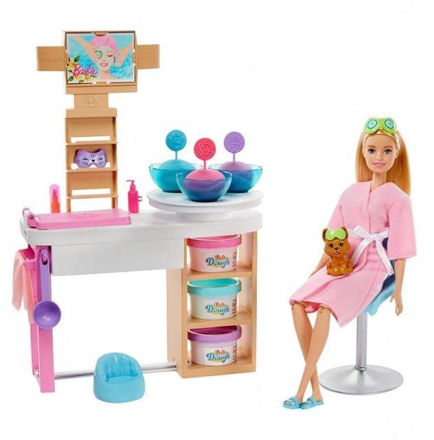 Lalka Mattel Barbie GJR84 zestaw Relaks Salon Spa