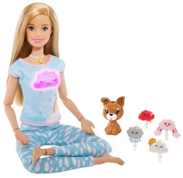 Lalka Mattel Barbie GNK01 Medytacja z dźwiękiem