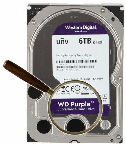 DYSK DO REJESTRATORA HDD-WD61PURX 6TB 24/7 WESTERN DIGITAL