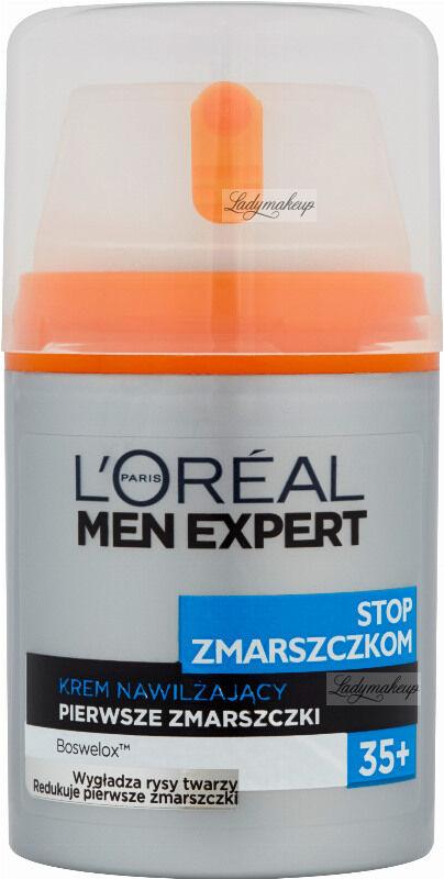 L''Oréal MEN EXPERT - STOP ZMARSZCZKOM - Krem nawilżający - Pierwsze zmarszczki