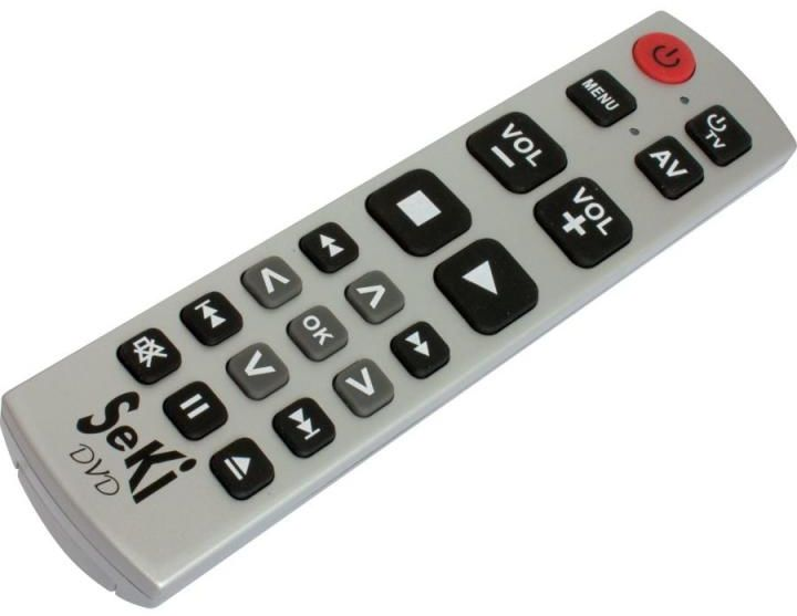 Pilot TV dla seniora SeKi DVD Srebrny