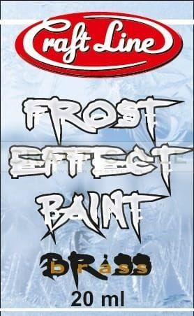 """Frost Effect Paint 20ml (brass) - Farba """"Efekt Szronu"""" (mosiądz)"""
