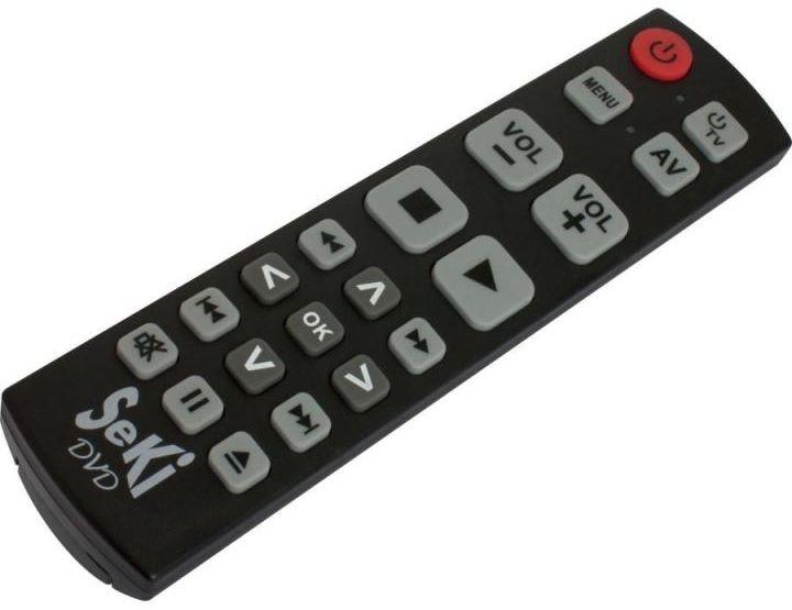 Pilot TV dla seniora SeKi DVD Czarny