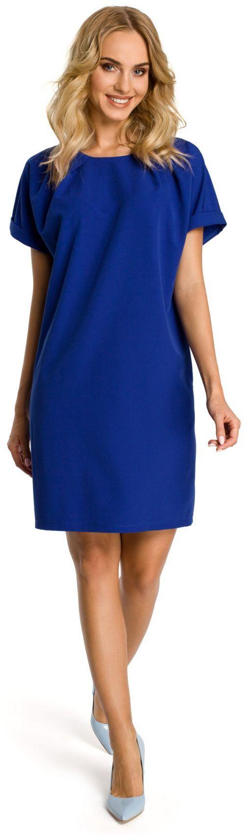 M337 sukienka chabrowa