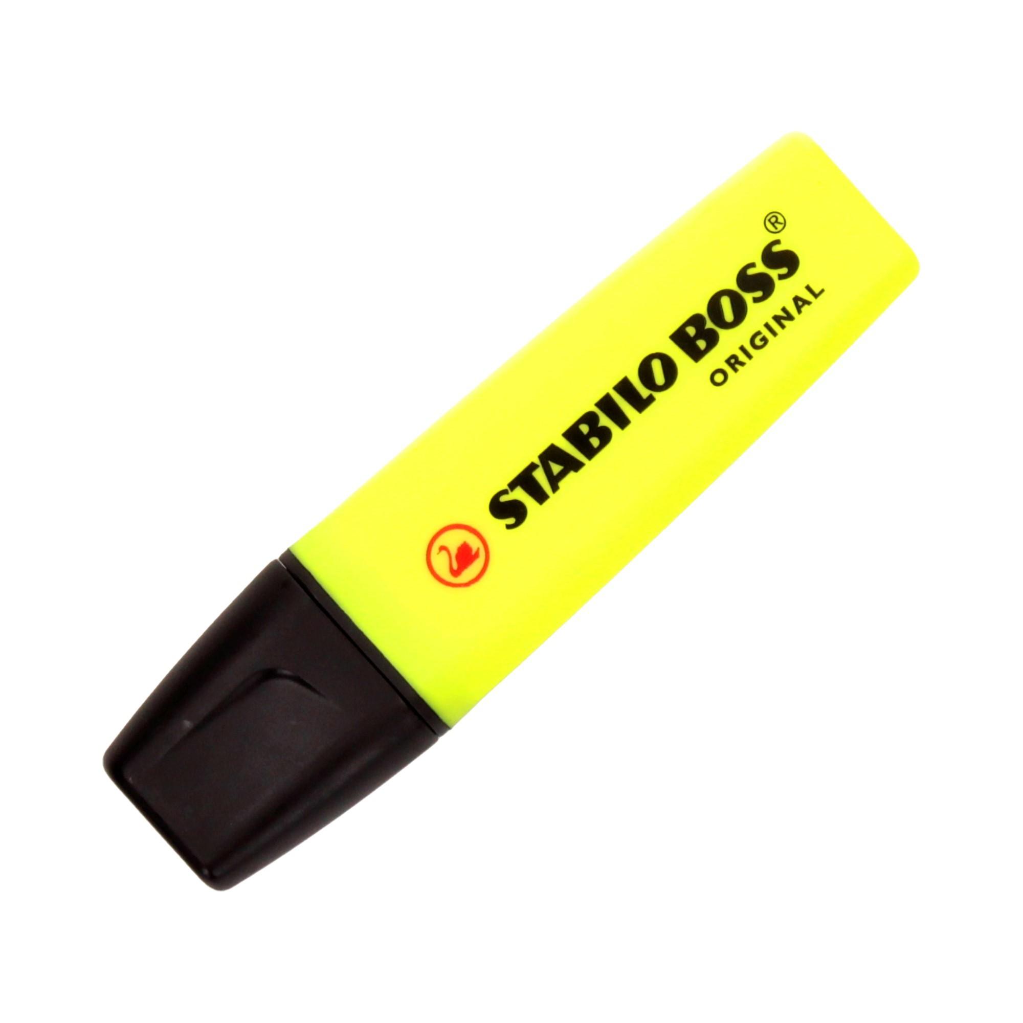 Zakreślacz żółty Boss Stabilo 70/24