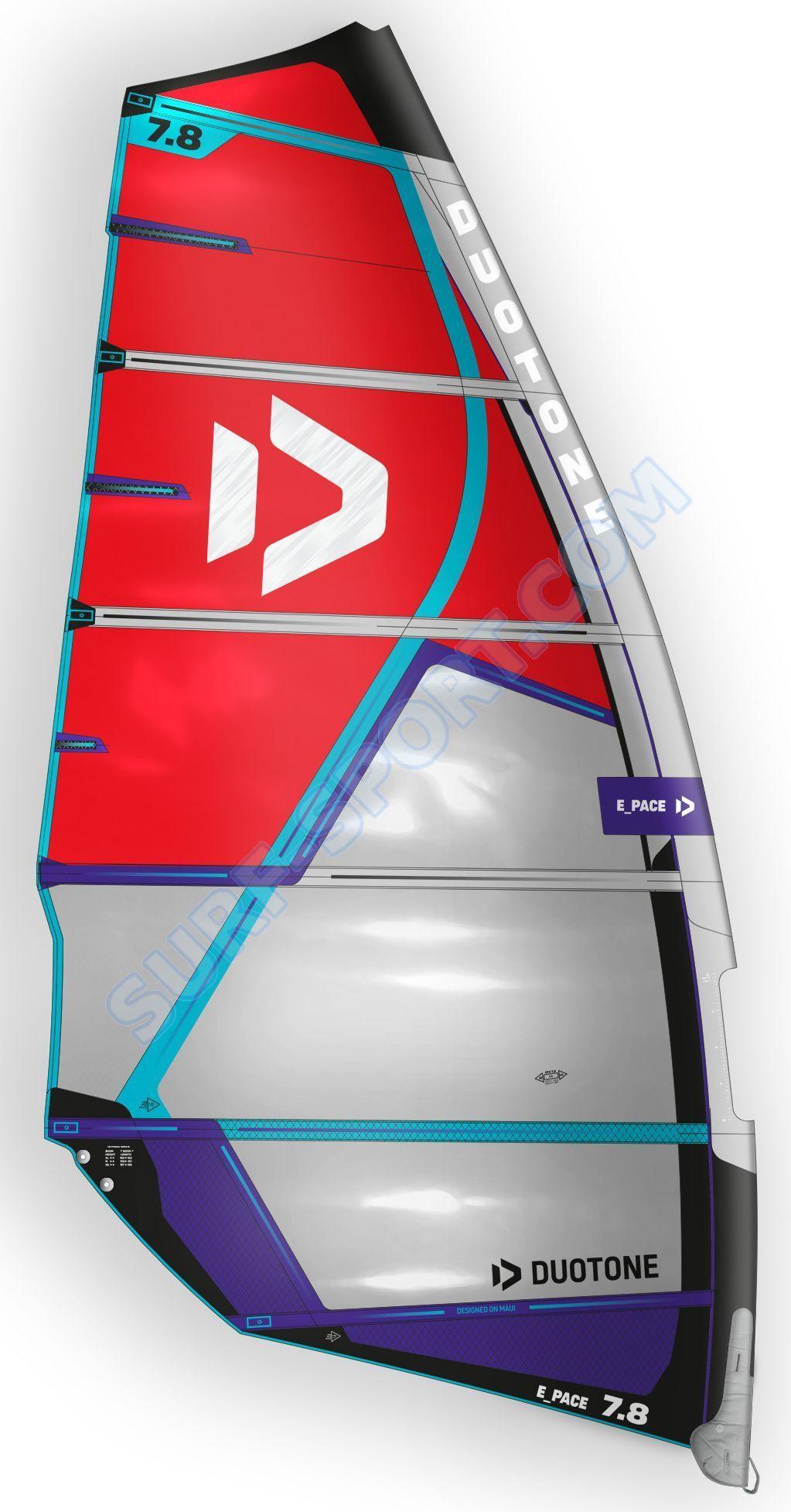 Żagiel Do Windsurfingu Duotone E-Pace 2021 C07:Red-Blue