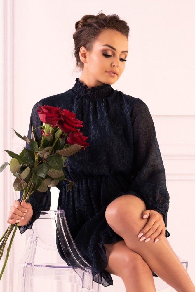 Collya Dark Blue F19-D73 sukienka