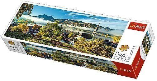 Puzzle 1000 Panorama - Nad jeziorem Schliersee TRE - Trefl