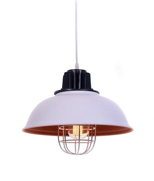 Lumina Deco Fuko loftowa biała lampa wisząca