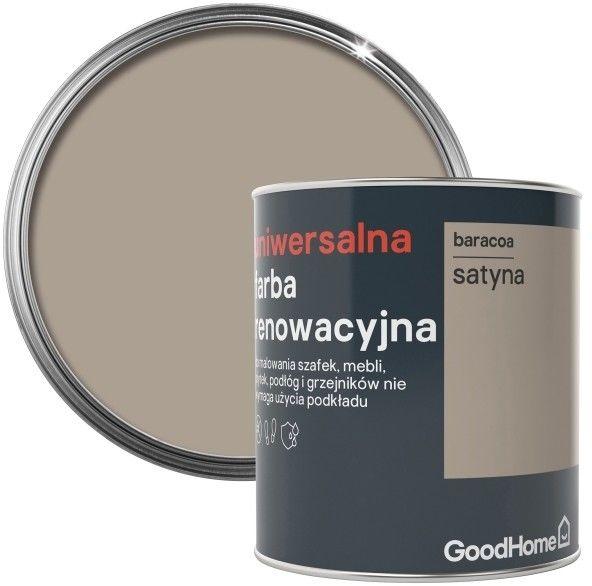 Farba renowacyjna uniwersalna GoodHome baracoa satyna 0,75 l