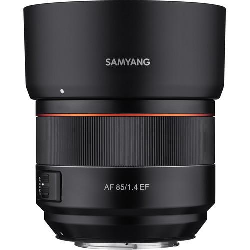 Samyang AF 85mm F1.4 EF - obiektyw stałoogniskowy do Canon EF Samyang AF 85mm F1.4 EF