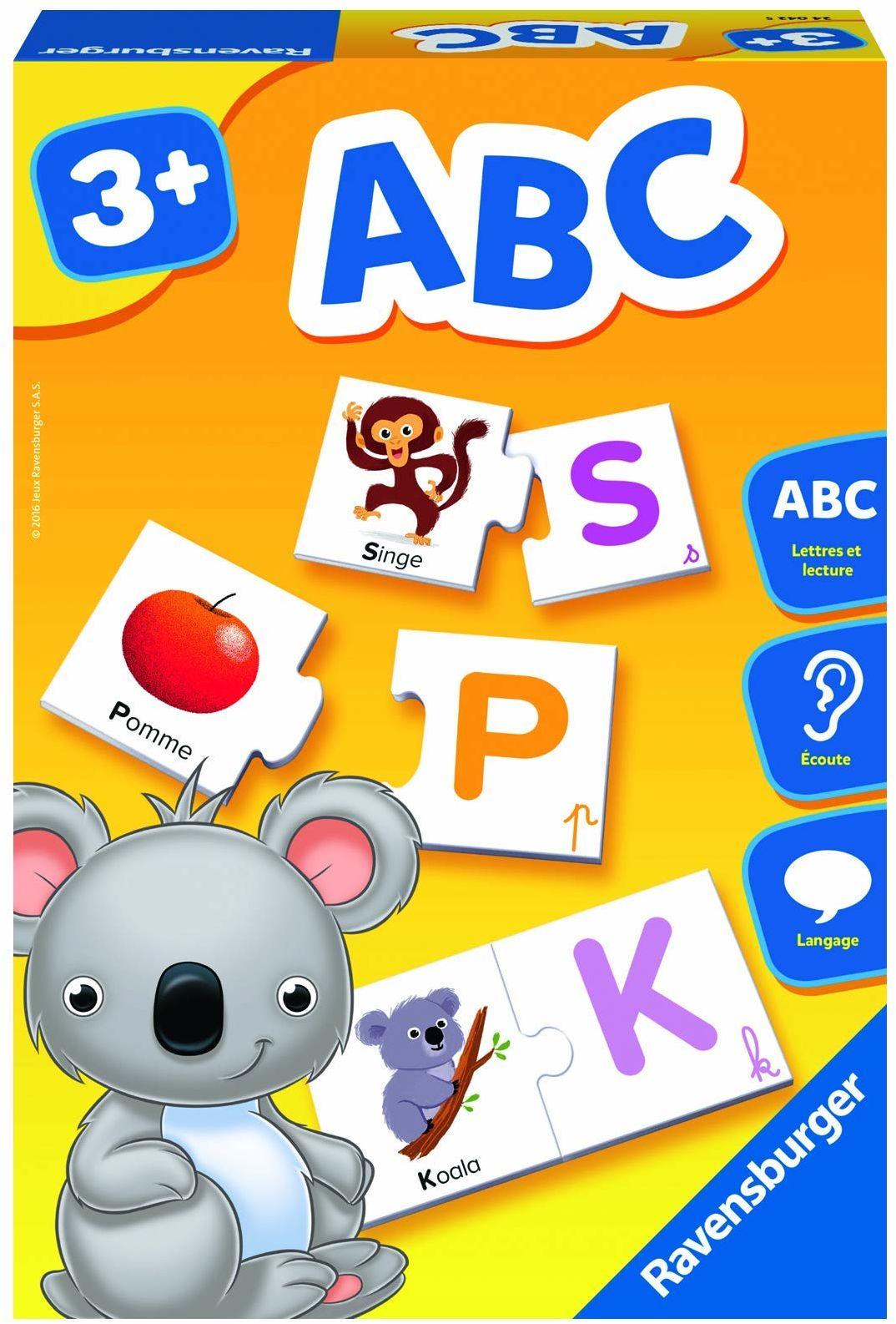 Ravensburger  Gra ABC  gra (wersja francuska)