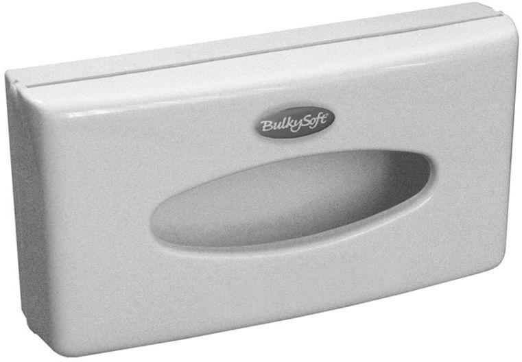 Pojemnik na chusteczki higieniczne Bulkysoft plastik biały