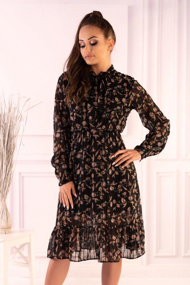 Lolaylam Black F19-D66 sukienka