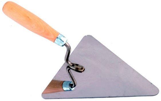 Kielnia trójkąt 160mm Nierdzewna
