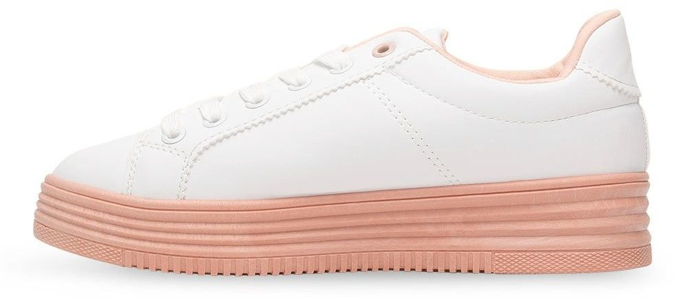 Buty sportowe damskie Abloom W-68 Biało-Różowe