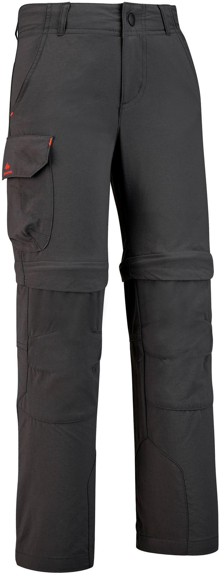 Spodnie turystyczne - MH550 2w1 - dla dzieci 7-15 lat