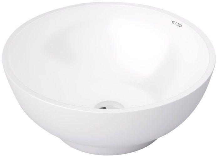 Massi Malo umywalka nablatowa 32x32cm biała MSU-5601