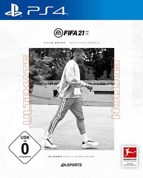 FIFA 21 ULTIMATE EDITION - (w zestawie bezpłatne uaktualnienie do PS5) - [Playstation 4]  wersja niemiecka