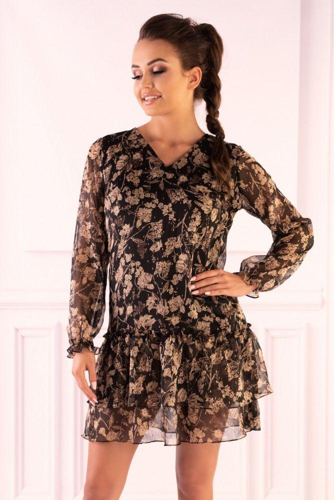 Mephirann Brown F19-D64 sukienka