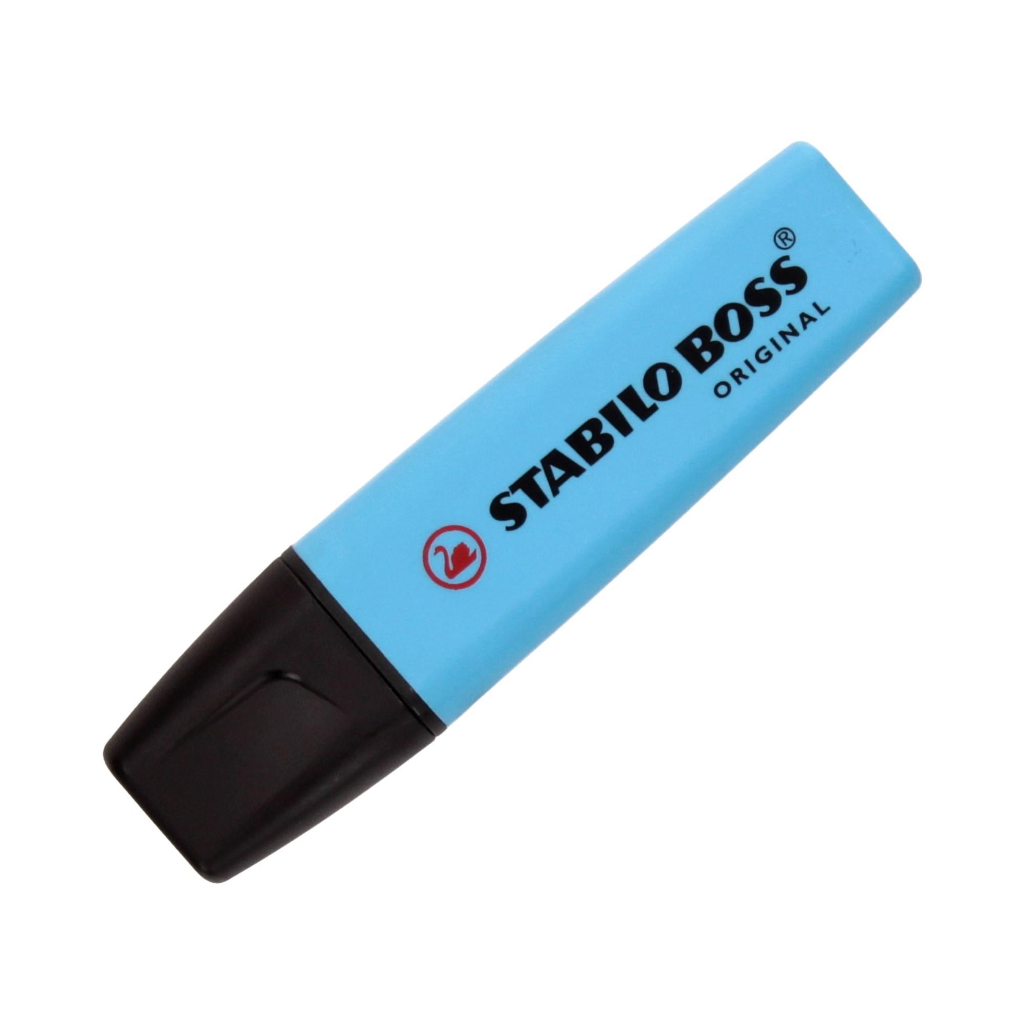 Zakreślacz niebieski Boss Stabilo 70/31