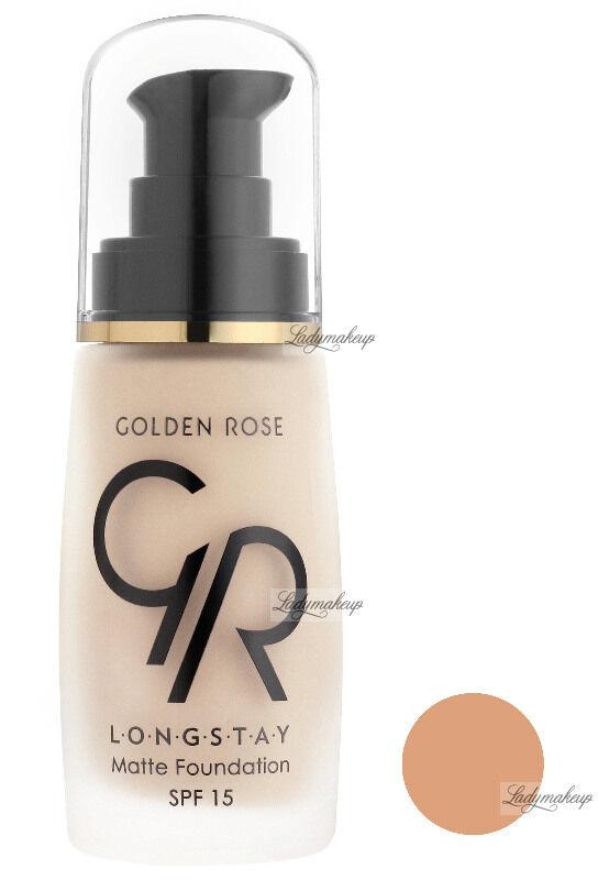 Golden Rose - LONGSTAY MATTE FOUNDATION - Długotrwały, matujący podkład do twarzy - P-GLM - 07