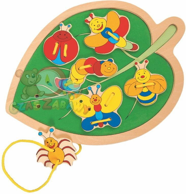 Woodyland - Liść z chrząszczami 90023