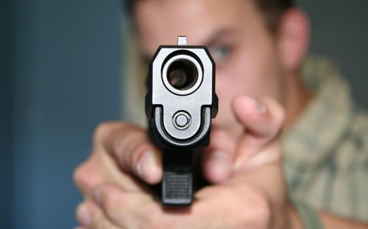 Strzelanie na strzelnicy  Kalisz