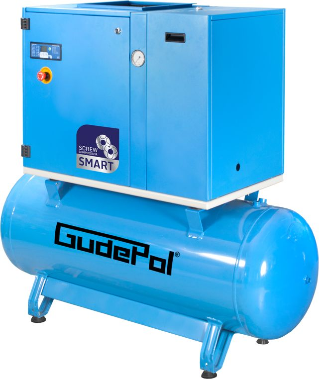 Kompresor śrubowy GudePol GD-SMART 7,5/13/270/15 2021