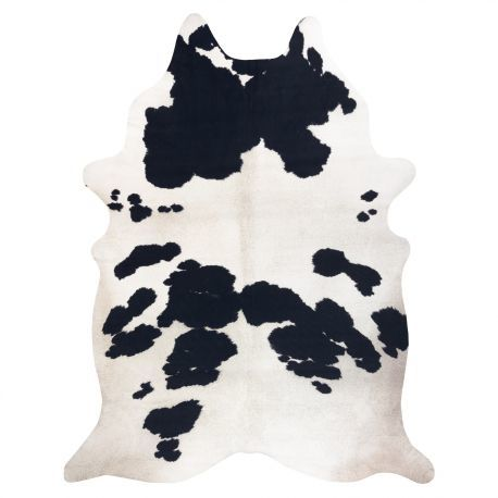 Dywan Sztuczna Skóra Bydlęca, Krowa G5069-1 Biało-czarna skórka 155x195 cm